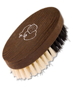 Fruit brush made of thermo wood, 9.5 cm