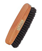 Clothes brush made of pear wood, 13.5 cm