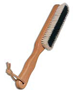 Kashmir brush made of pear wood, 26.5 cm
