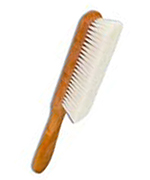 Dust brush for books from beech wood, 26 cm