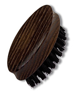 Travel nail brush made of thermo wood, 6.5 cm